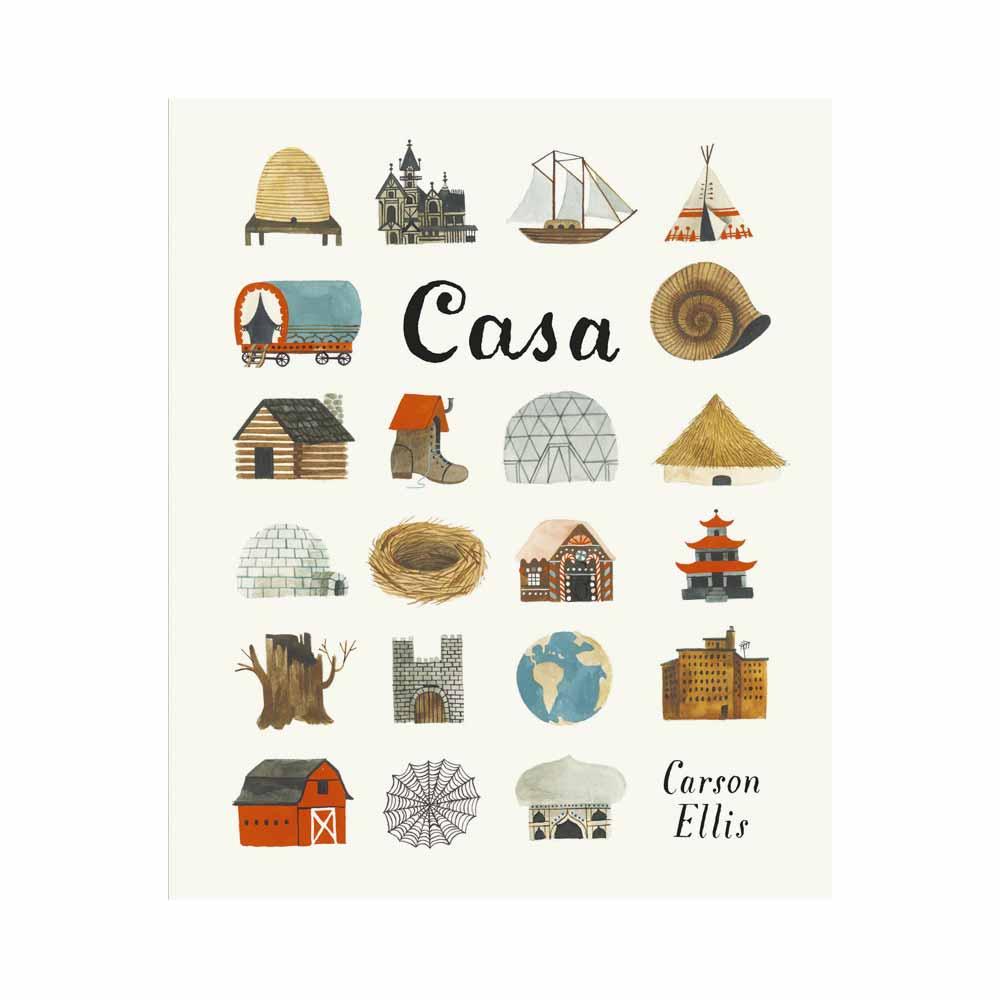 Casa, Carson Ellis - Emme Edizioni